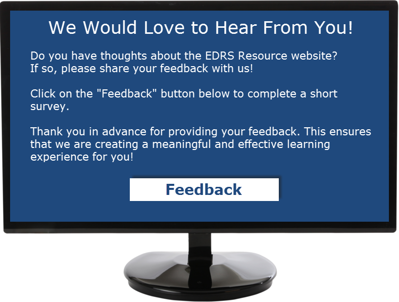 Please share your feedback with us